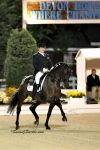 Todd Flettrich and Otto Make Their Musical Freestyle Debut Under the Lights at Dressage at Devon