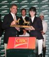 Abigail McArdle and Cosma 20 won the $15,000 CIBC Junior/Amateur Grand-Prix at Spruce Meadows.