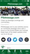 PhelpsSports.com and PSdressage.com Launch New iPhone and Android Apps!