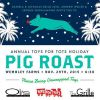 Annual Toys for Tots Holiday Pig Roast