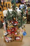 Equestrian ornaments, chocolate and gift ideas adorn the tree at The Tackeria.