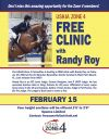 Audit the USHJA Zone 4 Free Clinic on Feb. 15!