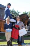 Freddie Vazquez and Esprit de Vie, along with Jodi Vazquez, are presented with the