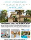 Don't Forget! Stop by Douglas Elliman Open Houses in Wellington Today!